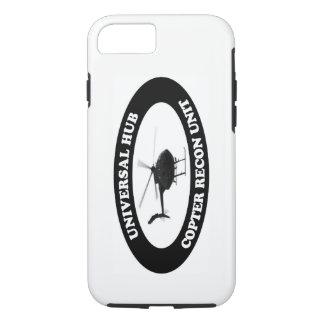 Funda Para iPhone 8/7 Caso renovado de la unidad del helicóptero