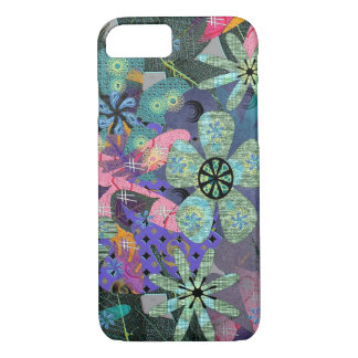 Funda Para iPhone 8/7 Caso retro del iPhone 7 de las flores