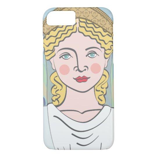 Funda Para iPhone 8/7 Caso romano de Juno Matryoshka de la diosa
