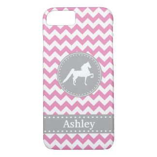 Funda Para iPhone 8/7 Caso rosado adaptable del iPhone 7 de Saddlebred