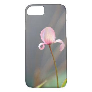Funda Para iPhone 8/7 Caso rosado del iPhone 7 del brote de flor