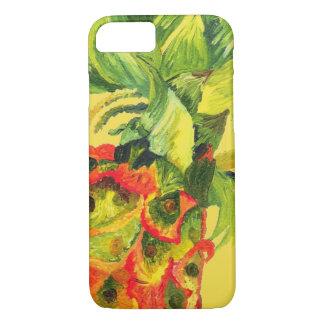 Funda Para iPhone 8/7 Caso tropical de Iphone de la piña