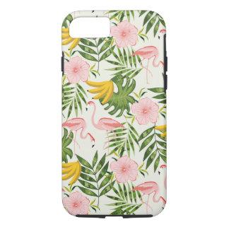 Funda Para iPhone 8/7 Caso tropical del iPhone 7 del flamenco del verano