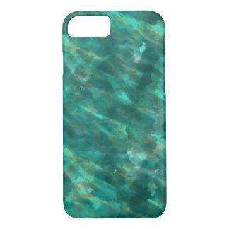 Funda Para iPhone 8/7 Caso verde oscuro del iphone del arte del color de