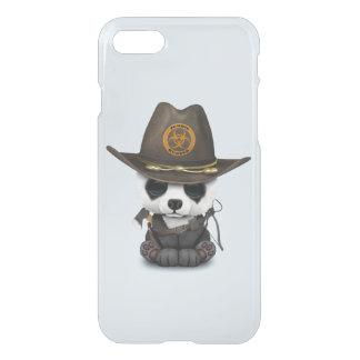 Funda Para iPhone 8/7 Cazador del zombi del oso de panda del bebé