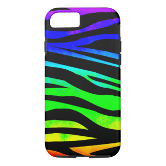 Funda Para iPhone 8/7 Cebra del arco iris