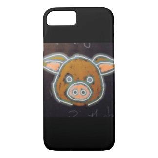 Funda Para iPhone 8/7 Cerdo de neón
