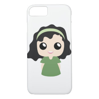 Funda Para iPhone 8/7 Chica del pelo rizado