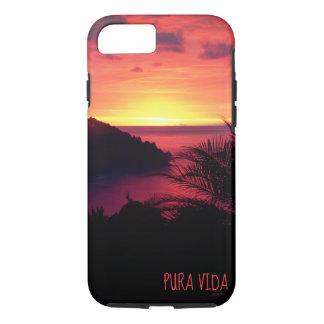 Funda Para iPhone 8/7 Chisporroteo de la puesta del sol de Pura Vida