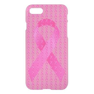 Funda Para iPhone 8/7 Cinta del rosa del mes de la conciencia del cáncer