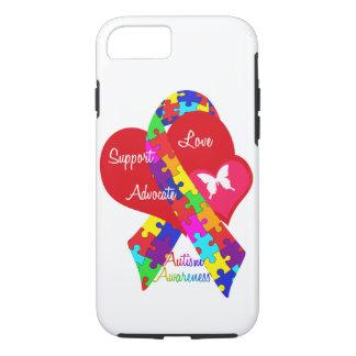 Funda Para iPhone 8/7 Cinta entrelazada del autismo