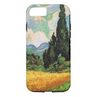 Funda Para iPhone 8/7 Cipreses del campo de trigo de Van Gogh w en Haute
