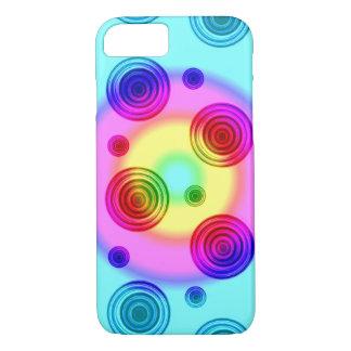 Funda Para iPhone 8/7 círculos brillantes