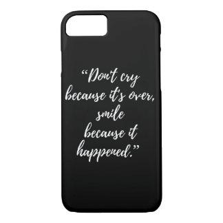 Funda Para iPhone 8/7 cita popular de la cita del iphone inspirado del