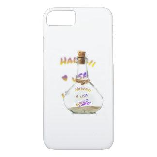 Funda Para iPhone 8/7 Ciudad del mundo de Hawaii, botella de agua