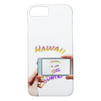 Funda Para iPhone 8/7 Ciudad del mundo de Hawaii, teléfono móvil