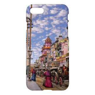 Funda Para iPhone 8/7 Ciudad - New Orleans la era 1887 del Victorian