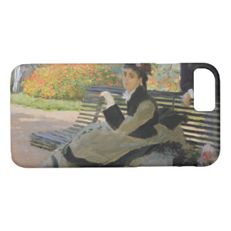 Funda Para iPhone 8/7 Claude Monet - Camilo Monet en un banco