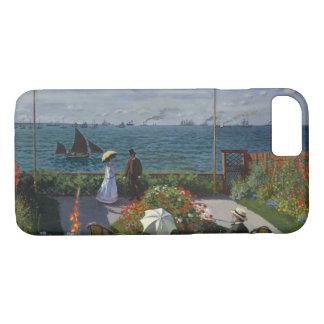 Funda Para iPhone 8/7 Claude Monet - jardín en Sainte-Adresse