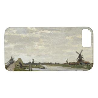 Funda Para iPhone 8/7 Claude Monet - los molinoes de viento acercan a