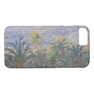 Funda Para iPhone 8/7 Claude Monet - palmeras en Bordighera