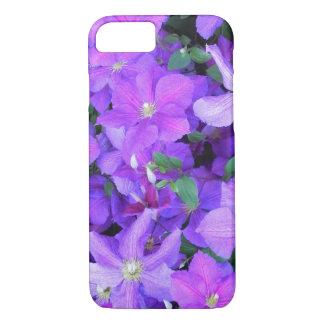 Funda Para iPhone 8/7 Clematis violeta hermoso
