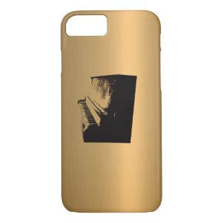Funda Para iPhone 8/7 Cobre-Efecto de bronce del piano