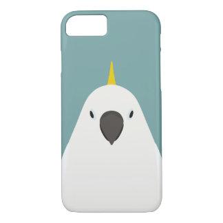 Funda Para iPhone 8/7 Cockatoo Azufre-con cresta - ilustracion del