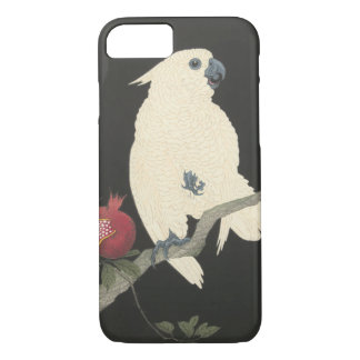 Funda Para iPhone 8/7 Cockatoo blanco japonés de la bella arte el | del