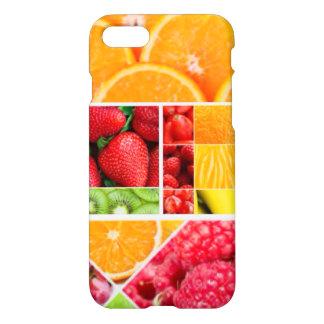 Funda Para iPhone 8/7 Collage de la fruta de la mezcla
