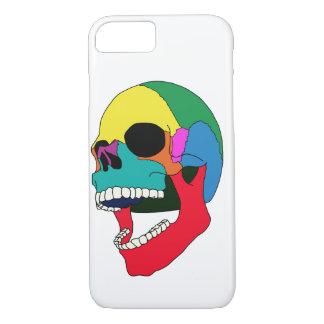 Funda Para iPhone 8/7 Color del cráneo del estallido