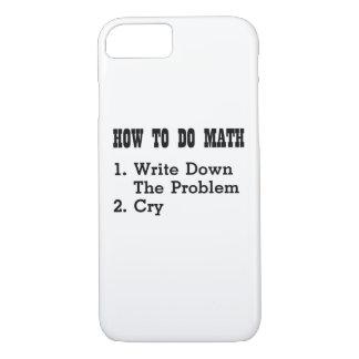 Funda Para iPhone 8/7 Cómo hacer las camisetas divertidas de la