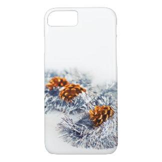 Funda Para iPhone 8/7 Conos chispeantes del pino de las decoraciones del