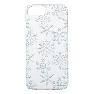 Funda Para iPhone 8/7 Copo de nieve del caso del iPhone 7 del navidad
