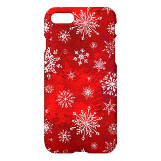 Funda Para iPhone 8/7 Copos de nieve blancos