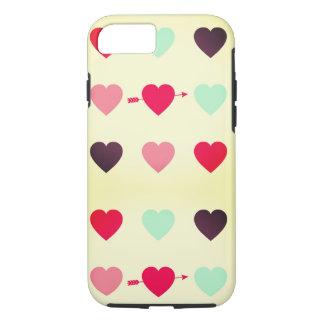 Funda Para iPhone 8/7 corazones y colores