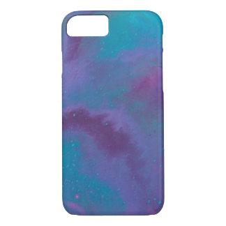Funda Para iPhone 8/7 Cosmos púrpura y azul