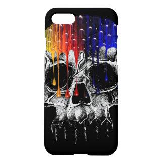 Funda Para iPhone 8/7 Cráneo del arco iris