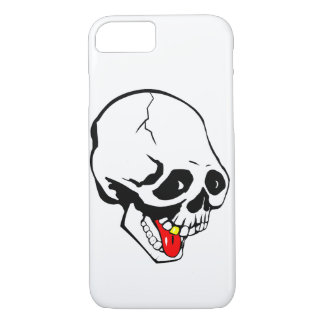 Funda Para iPhone 8/7 cráneo divertido