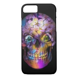 Funda Para iPhone 8/7 Cráneo floral asombroso A