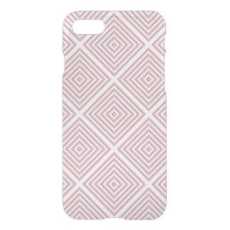 Funda Para iPhone 8/7 Cuadrados geométricos rosados