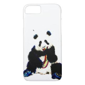 Funda Para iPhone 8/7 Cuando una panda coge un arco iris…