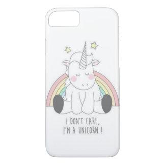 "Funda Para iPhone 8/7 Cubierta de Iphone ""soy un unicornio """
