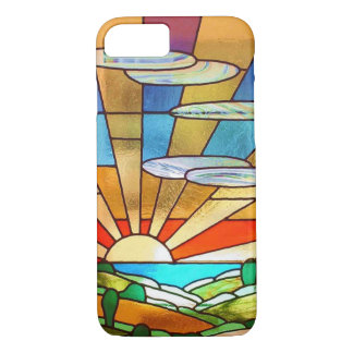 Funda Para iPhone 8/7 Cubierta del iPhone de la salida del sol