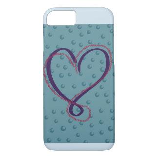 Funda Para iPhone 8/7 Cubierta del iphone del amor de la burbuja