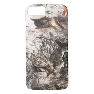 Funda Para iPhone 8/7 Cubierta del teléfono de la corteza de abedul