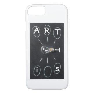 Funda Para iPhone 8/7 Cubierta del teléfono del pintor del artista