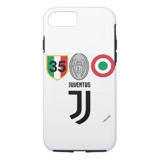 Funda Para iPhone 8/7 Cubierta Triplete de Juventus