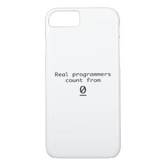 Funda Para iPhone 8/7 Cuenta real de los programadores a partir de la 0