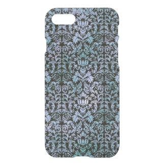 Funda Para iPhone 8/7 Damasco azul de Shibori del batik del cielo